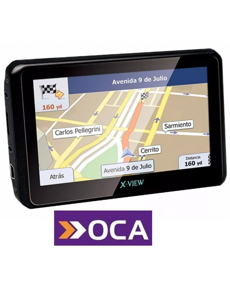 GPS X-view Venture Go 4.3p Touch Micro Sd Usb