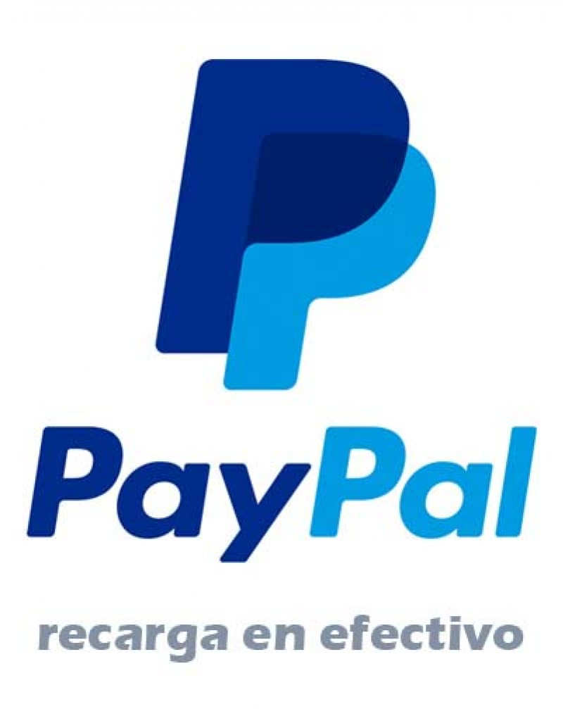 Paypal carga 50 USD