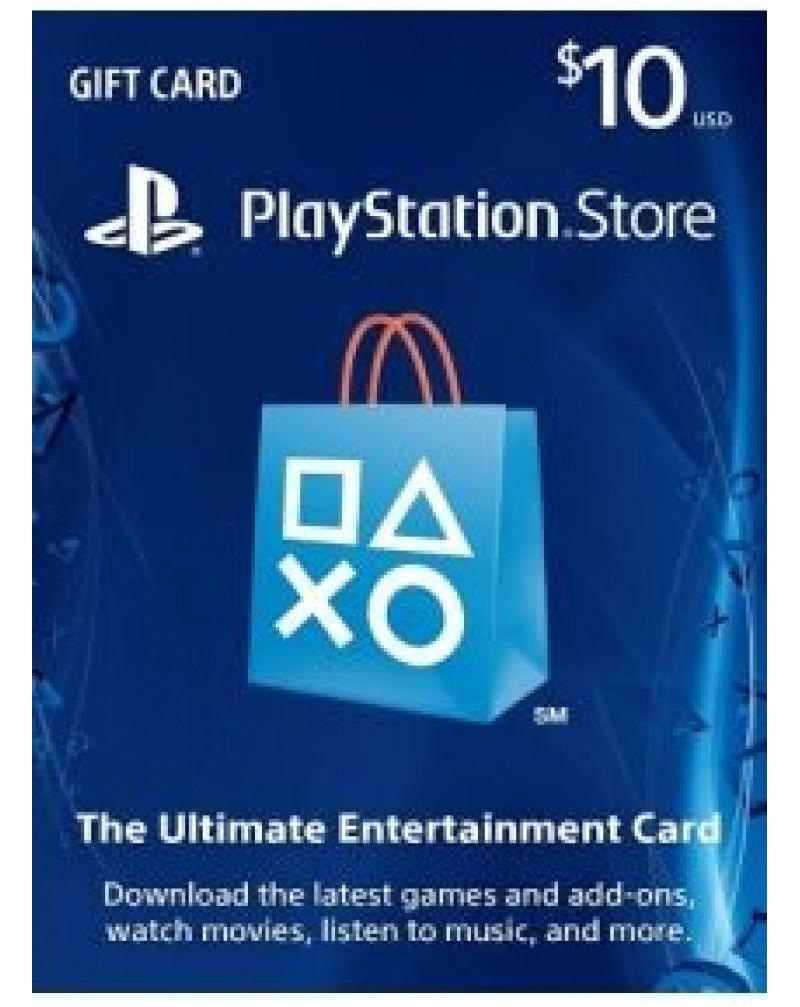Playstation carga 10 USD