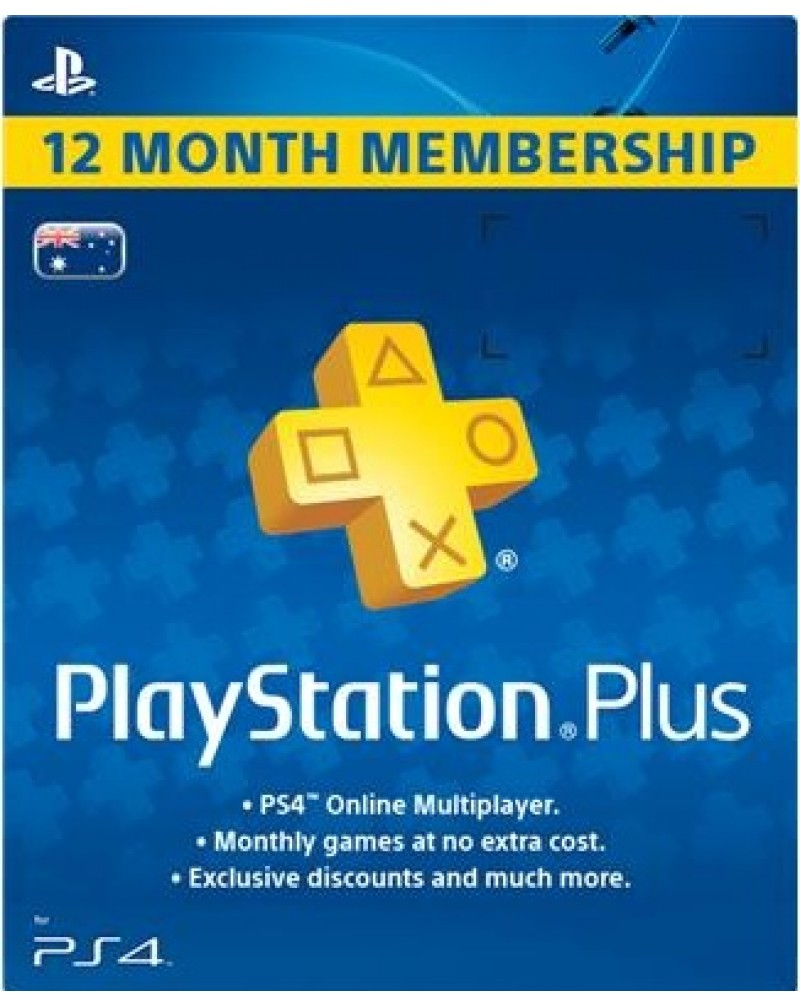 Playstation membresía 12 meses